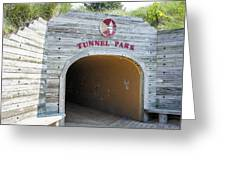 Tunnel Park, Holland Mi Greeting Card