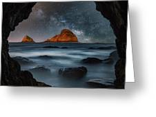 Tunnel View Nights Greeting Card