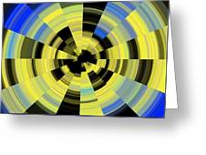 Tunnel Vision Greeting Card