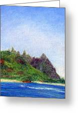 Tunnels Beach View Greeting Card