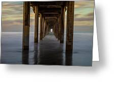 Tunnelscape Greeting Card