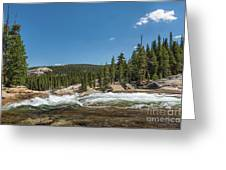 Tuolumne River  Greeting Card