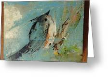Tupen Tit Mouse Greeting Card