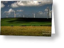 Turbines At Goonhaven Greeting Card