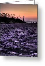 Turbulant Sands Greeting Card