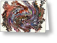 Turbulence II Greeting Card