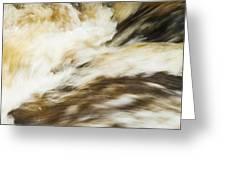 Turbulence Two Greeting Card