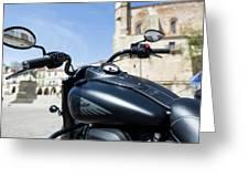 Turgalium Motorcycle Club 01 Greeting Card