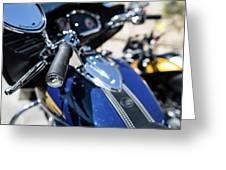 Turgalium Motorcycle Club 02 Greeting Card