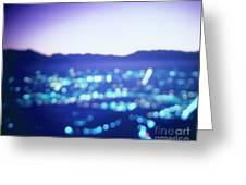 Turin By Night Greeting Card