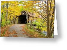 Turkey Jim's Covered Bridge Greeting Card