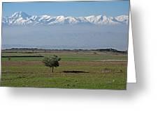 Turkey Landscape Greeting Card