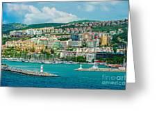 Turkey Port City Greeting Card