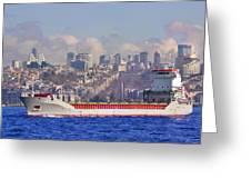 Turkish Cargo Greeting Card