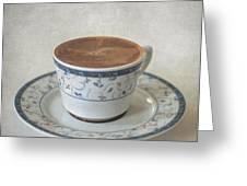 Turkish Coffee Greeting Card by Taylan Apukovska