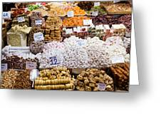Turkish Delight In Istanbul Greeting Card
