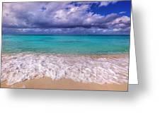 Turks And Caicos Beach Greeting Card