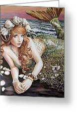 Turn Loose The Mermaid Greeting Card