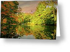 Turn Of River Greeting Card