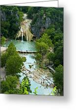 Turner Falls Grand View Two Greeting Card