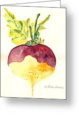 Turnip Greeting Card