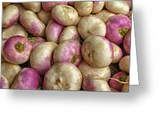 Turnips Greeting Card