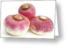 Turnips Greeting Card