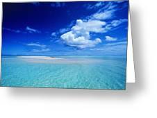 Turquiose Lagoon Greeting Card