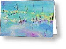 Turquoise Blue Greeting Card