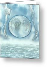 Turquoise Dream Greeting Card