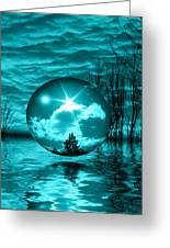 Turquoise Dreams Greeting Card