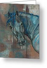 Turquoise Horse Greeting Card