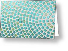 turquoise meets green P2 Greeting Card