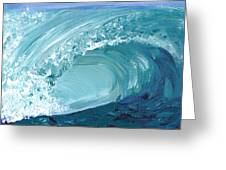 Turquoise Room Greeting Card