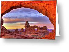 Turret Arch 1 Greeting Card