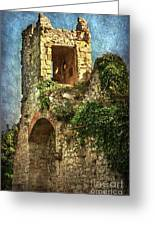 Turret At Wallingford Castle Greeting Card