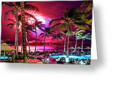 Turtle Bay - Independence Day Greeting Card