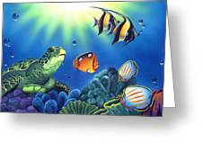 Turtle Dreams Greeting Card