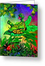 Turtle-totter Greeting Card
