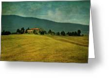 Tusacany Hills Greeting Card