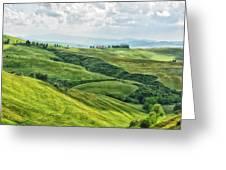Tusacny Hills I Greeting Card