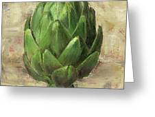 Tuscan Artichoke Greeting Card by Pam Talley