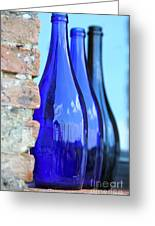 Tuscan Blue Reflections Greeting Card