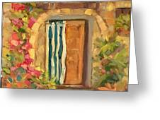 Tuscan Charm Greeting Card