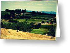 Tuscan Country Greeting Card