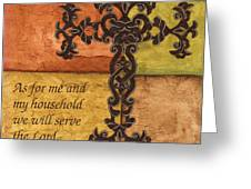 Tuscan Cross Greeting Card
