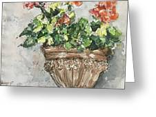 Tuscan Floral Greeting Card