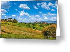 Tuscan Idyll  Greeting Card