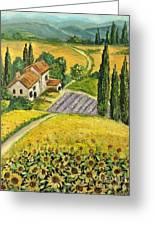 Tuscan Italy Greeting Card