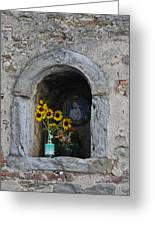 Tuscan Niche Greeting Card